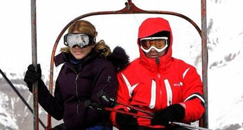 کشف حجاب علنی دختران در پیست اسکی توچال (عکس)