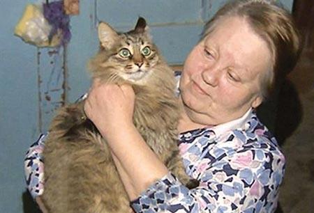 این گربه جان نوزاد 2 ماهه را نجات داد (عکس)