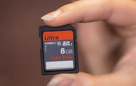 آموزش بازگرداندن اطلاعات از دست رفته کارت حافظه