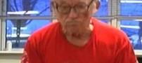 قدرت عجیب پیرمرد 95 ساله در وزنه برداری (عکس)
