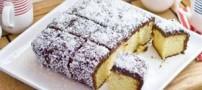 آموزش کیک استرالیایی به نام لامینگتون