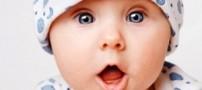 نوزاد زیبایی که بدون چشم متولد شد! (عکس)