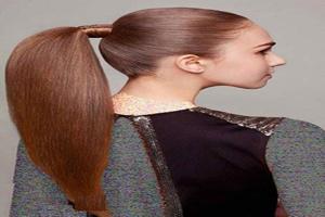 قشنگ ترین مدل موهای دخترانه دم اسبی+تصویر