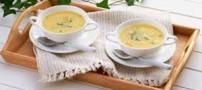 طرز تهیه و طبخ سوپ جو پرک با شیر