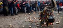 تصاویری از مراسم سنتی جالب در اسپانیا