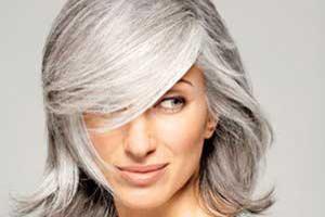 گام به گام برای آرایش موهای خاکستری