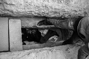 تجربه ترسناک مرگ واقعی دانشجویان سمنانی (عکس)