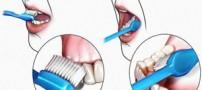 شیوه مسواک زدن دندان ها با نمک دریایی