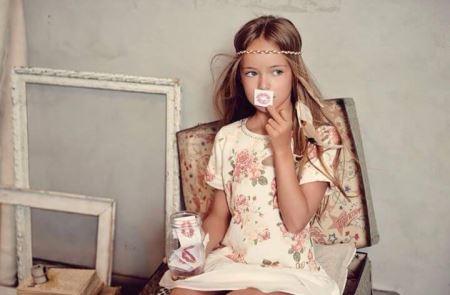عکس های کریستینا دختر 9 ساله جذاب و سوپر مدل جهان