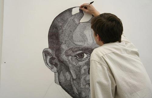نقاشی های بسیار زیبا با خودکار
