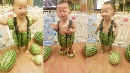 عکس های بامزه و خنده دار کودکان