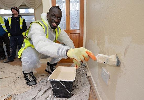 اقدام خیرخواهانه و عجیب فوتبالیست فرانسوی (عکس)