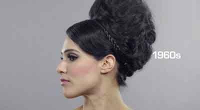 مدل موهای خانم های ایرانی در طول یک قرن گذشته