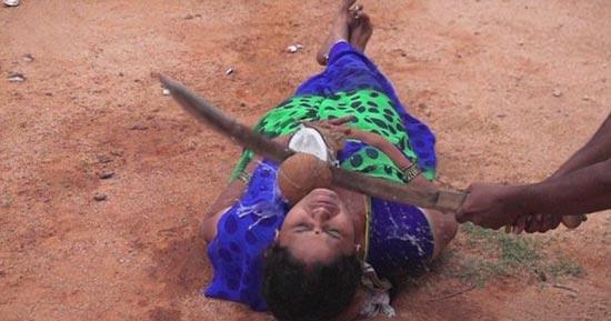 شیرین کاری مرگ آور به شیوه هندی (عکس)