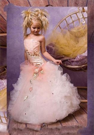 شیک ترین مدل لباس عروس بچه گانه