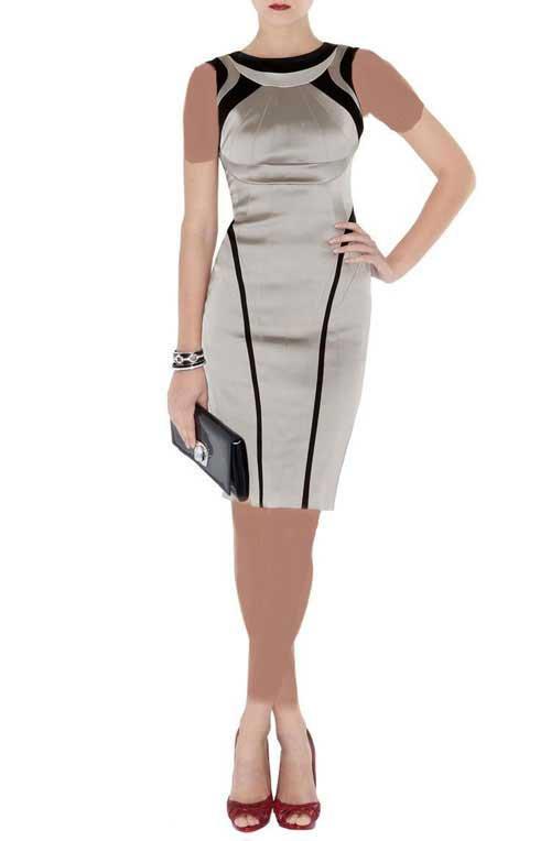انواع مدل لباس مجلسی کوتاه