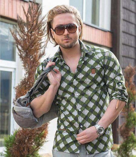 مدل پیراهن شیک و اسپرت مردانه