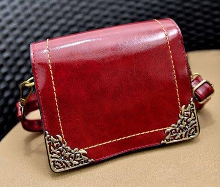 شیک ترین مدل کیف چرم زنانه رنگ سال