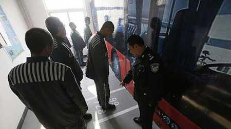 جالب ترین آموزش برای زندانیان (عکس)