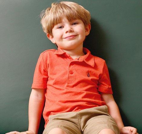 قدرت عجیب و شگفت انگیز پسر 4 ساله (عکس)