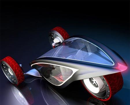طراحی متفاوت ترین خودروی دو نفره (عکس)