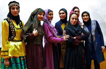 تصاویری از نمایش زنده حجاب و عفاف در مازندران