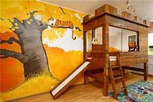 دکوراسیون والدین برای اتاق کودکان (تصاویر)
