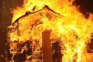 جزئیات آتش سوزی در بازار گل مشهد