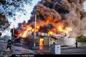 جزئیات آتش سوزی در جنوب تهران