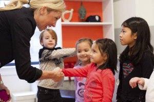 آداب معاشرت کودکان در موقعیت های مختلف