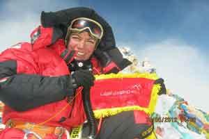 گفتگویی داغ با قهرمان کوهنوردی پروانه کاظمی