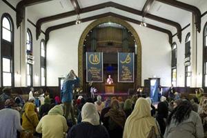 افتتاح اولین مسجد زنانه در لس آنجلس (عکس)