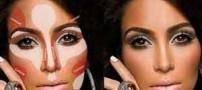 مدل آرایش متناسب با شکل بینی