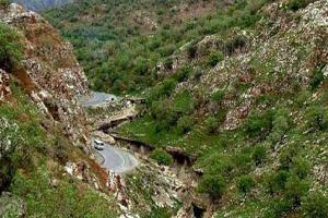 طبیعت دیدنی و بکر تنگه رازیانه در ایلام (عکس)