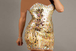 لباس های مجلسی کوتاه زنانه ویژه مراسم ها و مهمانی ها