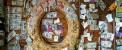 تزئین یک رستوران با اسکناس های واقعی (عکس)