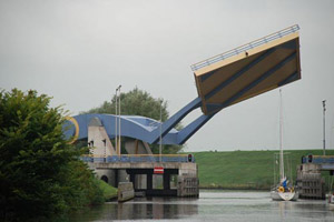 طراحی جالب ترین پل در هلند (عکس)
