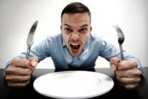 چرا آقایان زودتر غذایشان را تمام می کنند؟