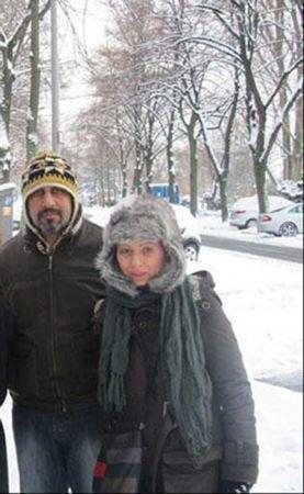 همسر رضا عطاران را دیده اید (عکس)