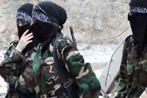 نفوذ خبرنگار زن فرانسوی به داعش!