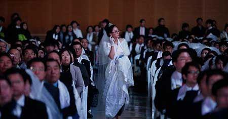 ازدواج جالب 3800 نفر همزمان با هم! (تصاویر)