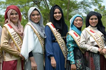 ملکه های زیبایی در اندونزی (تصاویر)