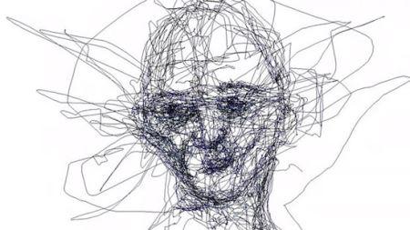 کشیدن نقاشی ماهرانه فقط با حرکات چشم!!! (عکس)