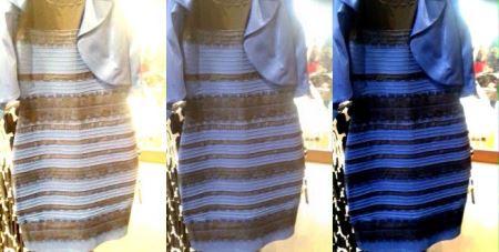 بالاخره این لباس زنانه چه رنگیه ؟ (تصویر)