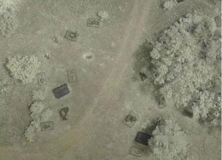 عکس های هولناک از مزرعه مردگان در آمریکا