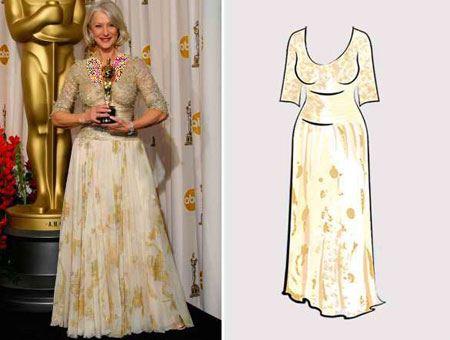 مدل لباس های شیک ستارگان در مراسم اسکار