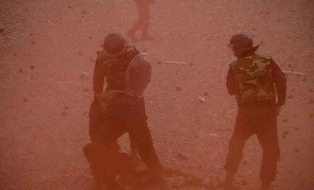عکس هایی از تمرین بسیج برای مبارزه با اغتشاش