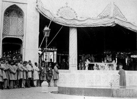 عکس های نایاب از جشن نوروز در زمان ناصر الدین شاه