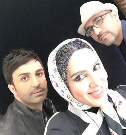 سلفی خانم بازیگر با برادر مرتضی پاشایی (عکس)