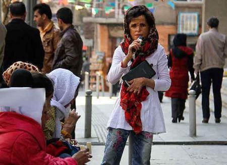 چهره های دردناک دختران سوخته شین آبادی و اعتراض در تهران
